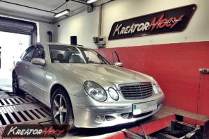 Chip tuning Mercedes W211 E 280 CDI 3.0 190 KM