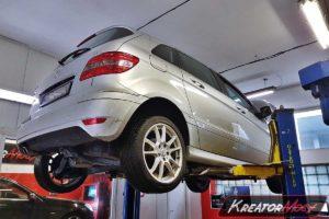 Problem DPF Mercedes W245 B 180 2.0 CDI 109 KM