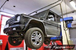 Problem DPF Mercedes W463 G 350 Bluetec 211 KM