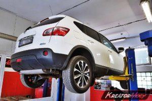 Problem DPF Nissan Qashqai 1.6 DCI 130 KM