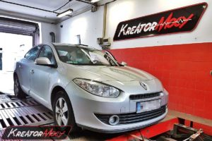 Chip tuning Renault Fluence 1.5 DCI 106 KM