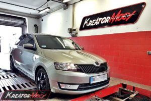 Chip tuning Skoda Rapid 1.2 TSI 105 KM