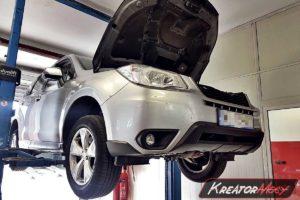 Problem DPF Subaru Forester SJ 2.0d 150 KM Euro6