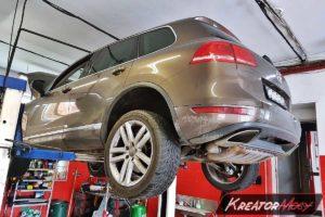 Usuwanie DPF VW Touareg II 4.2 TDI 340 KM (CKDA)