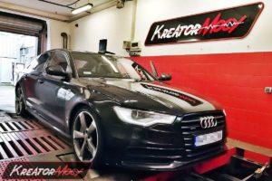 Remap Audi A6 C7 3.0 Biturbo TDI 313 KM (CGQB