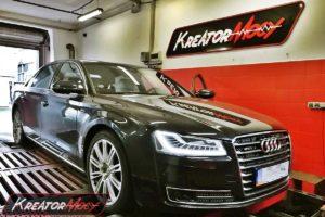 Remap Audi A8 D4 4.0 TFSI 435 KM 320 kW