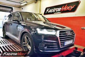 Tuning Audi Q7 4M 3.0 TDI 272 KM 200 kW (CRTC)