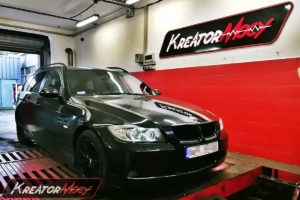 Remap BMW E91 318d 122 KM 90 kW