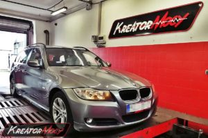 Chip tuning BMW 3 E91 318d 2.0d 136 KM 100 kW