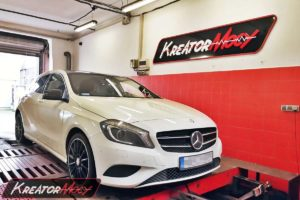 Chip tuning Mercedes W176 A 180 CDI 1.5 109 KM