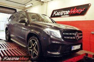 Chip tuning Mercedes X166 GLS 500 4.7T V8 455 KM
