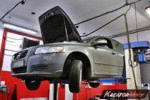 Zapchany DPF Volvo V50 1.6d 115 KM