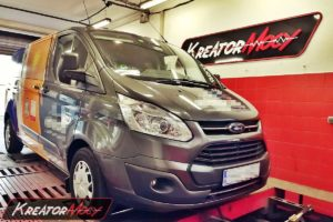Chip tuning Ford Transit Custom 2.0 EcoBlue 130 KM