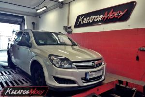Chip tuning Opel Astra H 1.6 ECOTEC 115 KM