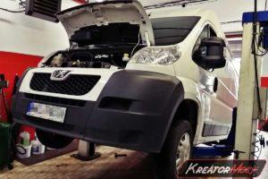 Naprawa DPF Peugeot Boxer 2.2 HDI 130 KM SID208