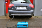 Pomiar zadymienia urządzeniem DS2PC po usunięciu zapchanego filtra DPF lub FAP w Kreator Mocy Warszawa