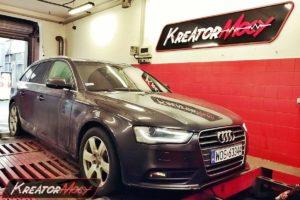 Remap Audi A4 B8 2.0 TDI CR 177 KM (CGLC)