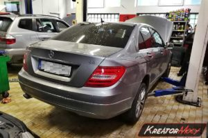 Usuwanie DPF Mercedes W204 C220 CDI 170 KM