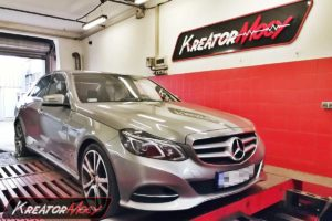 Chip tuning Chip tuning Mercedes W212 E 250 2.0T 211 KM