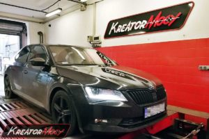 Chip tuning Skoda Superb III 2.0 TSI 220 KM