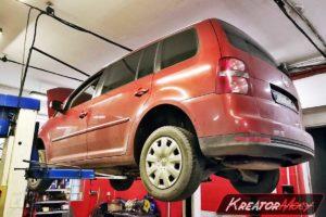 Zapchany DPF Volkswagen Touran 2.0 TDI 140 KM