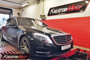 Chip tuning Mercedes W222 S 400 3.0 BiTurbo V6 333 KM