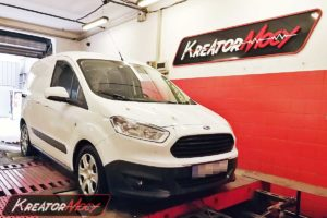 Remap Ford Transit Courier 1.0T EcoBoost 100 KM 74 kW