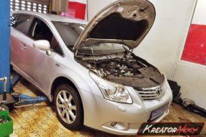 Usuwanie DPF Toyota Avensis T27 2.2 D-CAT 150 KM