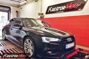 Remap Audi A5 2.0 TDI 190 KM (CNHA)