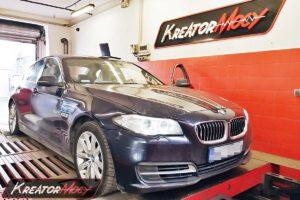 Remap BMW F10 518d 2.0d 150 KM