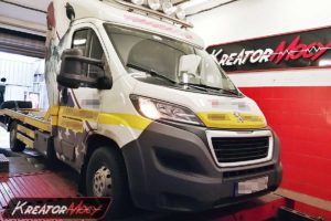 Chip tuning Peugeot Boxer II 2.2 HDI 130 KM
