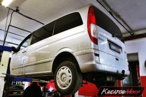 Usuwanie DPF Mercedes Vito 111 CDI 2.2d 109 KM