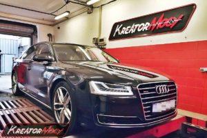 Tuning Audi A8 D4 4.2 TDI 385 KM (CTEC)