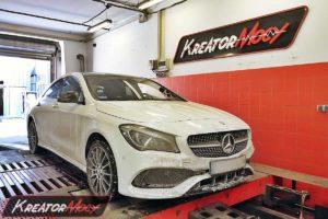 Tuning Mercedes CLA 220 2.0T 184 KM 135 kW 4Matic
