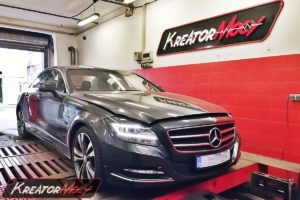 Chip tuning Mercedes C218 CLS 250 CDI 2.2 204 KM