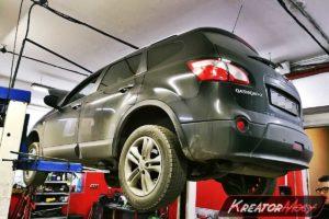Problem DPF Nissan Qashqai+2 2.0 DCI 150 KM
