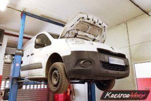 Serwis DPF Peugeot Partner II 1.6 HDI 92 KM