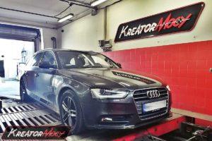 Remap Audi A4 B8 2.0 TDI CR 150 KM (CJCD)