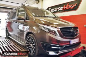 Chip tuning Mercedes W447 V250d 2.2d 190 KM 140 kW