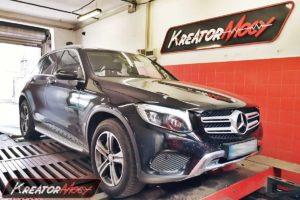 Remap Mercedes X253 GLC220d 2.2d 170 KM 125 kW