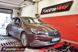 Chip tuning Opel Astra K 1.4 Turbo 150 KM