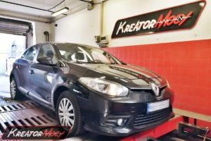 Tuning Renault Fluence 1.5 DCI 110 KM (SID305)