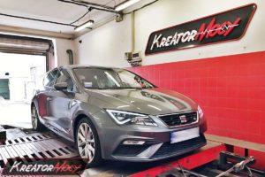 Tuning Seat Leon 5F 1.4 TSI 125 KM (CZCA)