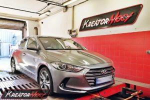 Chip tuning Hyundai Elantra 1.6 CRDI 136 KM