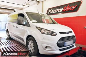 Chip tuning Ford Transit Connect 1.6 TDCI 115 KM