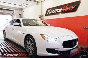Remap Maserati Quattroporte 3.0d 275 KM