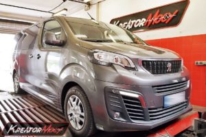 Chip tuning Peugeot Traveller 1.6 BlueHDI 116 KM