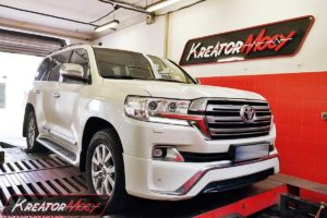 Chip tuning Toyota Land Cruiser 4.5 D4D V8 230 KM