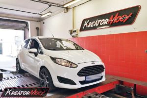 Chip tuning Ford Fiesta MK7 1.5 TDCI 75 KM