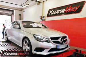 Chip tuning Mercedes C207 E200 2.0T 184 KM